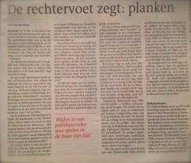Dagblad van het Noorden zaterdag 29 november 2014