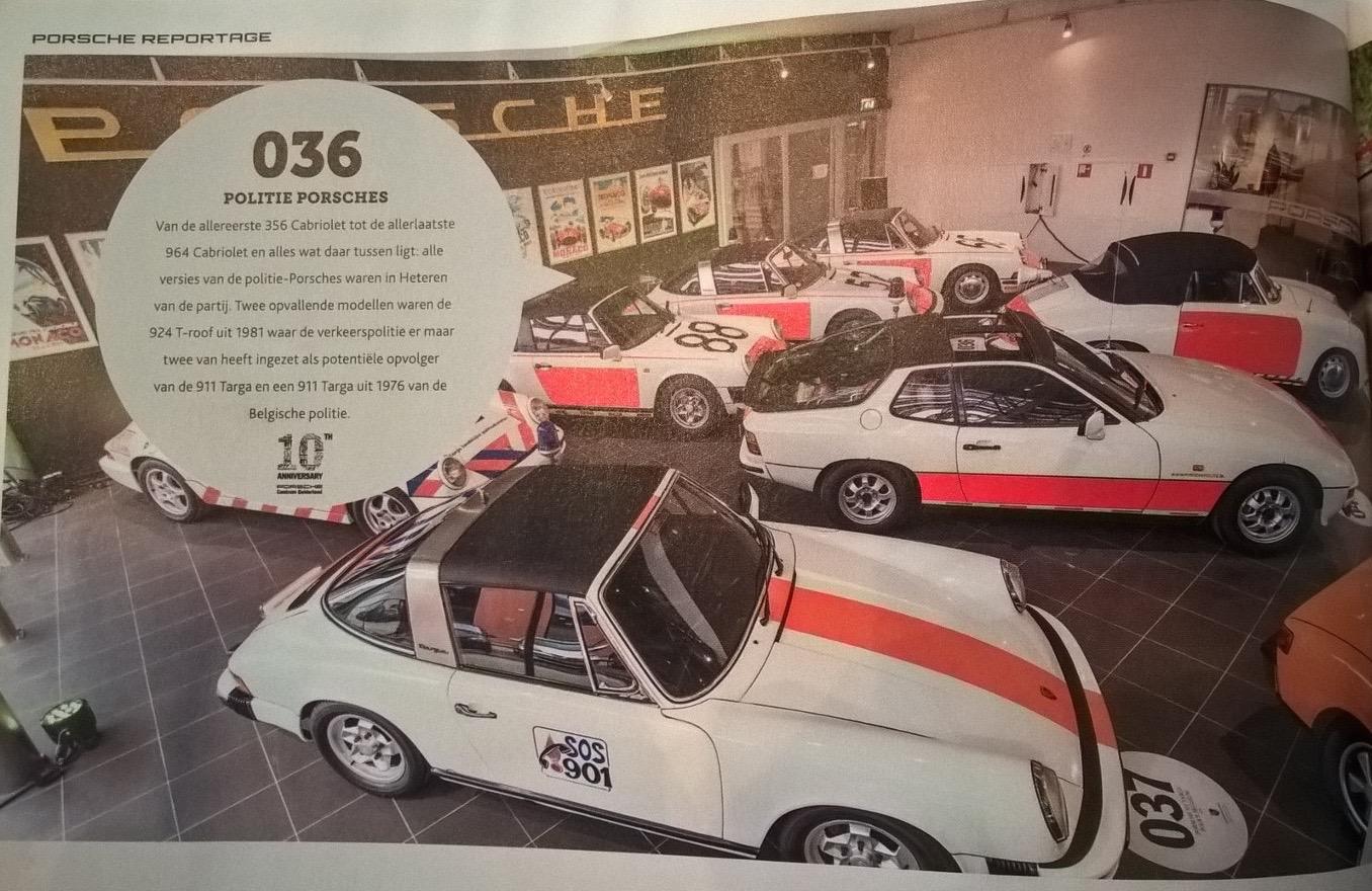 Puur. 2016 nummer 5  met daarin het 10 jarig bestaan van Porsche Centrum Gelderland line-up politie